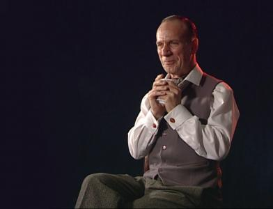 George Telfer as John Gielgud