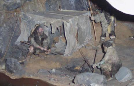 Peak District cave dwellers (credit: Derbyshire County Council)