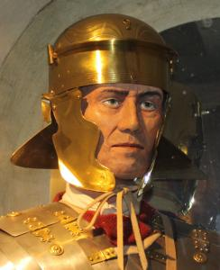 Roman soldier in Buxton Museum & Art Gallery (credit: Derbyshire County Council)