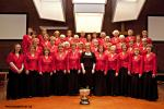 Winning Choir at Hazel Grove Music Festival 2011