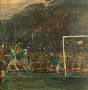 ?Last Minute Goal? by Carel Weight