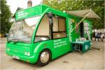 Come visit Betty, our Macmillan Cancer Information Bus