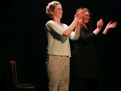 A round of applause (Nonsense & Sensibility by Tom Crawshaw)