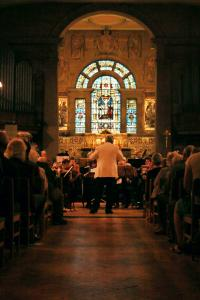High Peak Orchestra performing at St John's Church