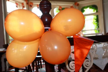 The Old Clubhouse is ballooned and ready to host the Buxton Fringe Awards 2016!