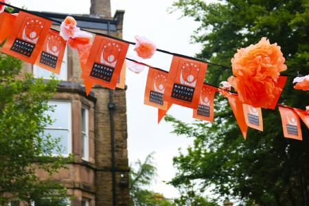 We're a big fan of bunting at the Fringe