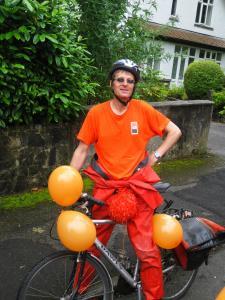 Dan and the Fringe bike
