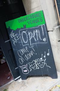 Underground Venues invite us in for more Fringe fun