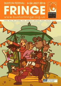 By A Crookes - chosen to illustrate Fringe at Five poster